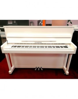 piano droit étude occasion laqué blanc ou noir en location