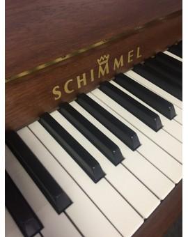Piano allemand en bois foncé d'occasion