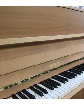piano neuf PTEROF 118 P1 bois naturel
